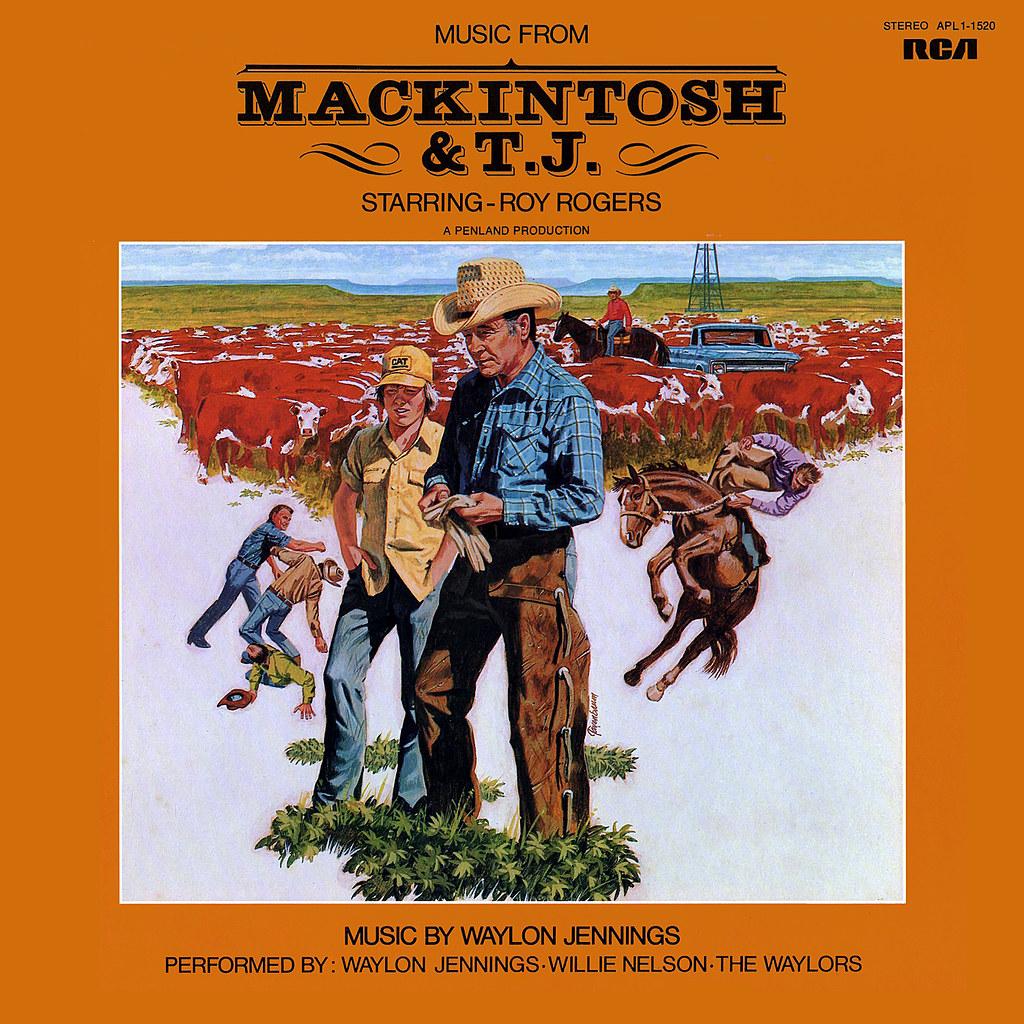 Waylon Jennings - Mackintosh & T.J.