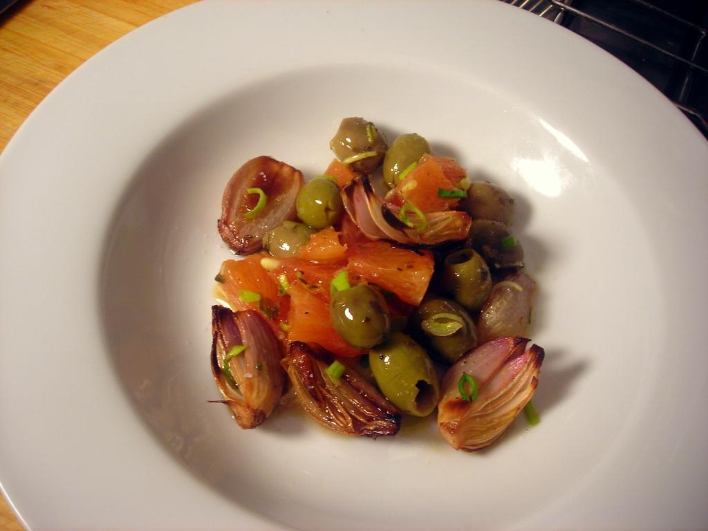 Olive and orange salad