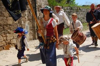Burghausen Castle Festival processional