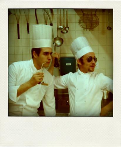 In the Ritz Kitchen