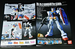 ANA RX-78-2 Gundam HG 144 G30th Limited Kit  OOTB Unboxing Review (27)