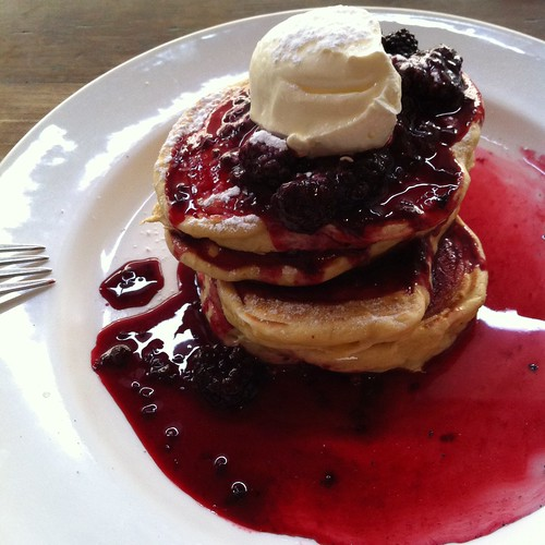 Pancakes at Finc, Wellington