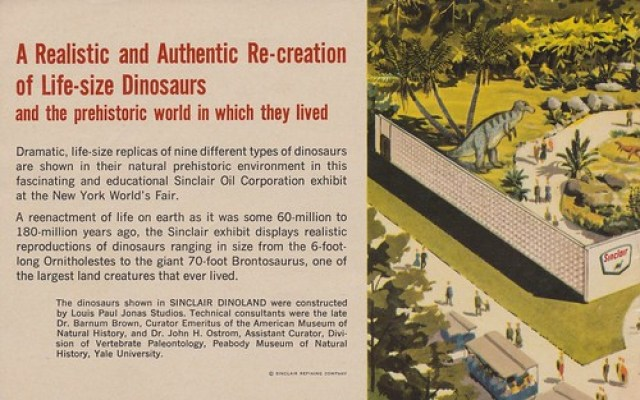 A Realistic and Authentic Re-creation of Life-size Dinosaurs