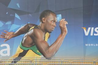 Usain Bolt et Visa