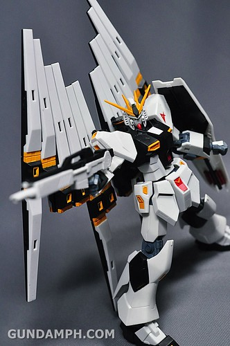 Robot Damashii Nu Gundam & Full Extension Set Review (68)
