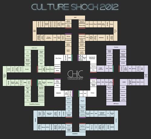 Culture Shock 2012 MAP