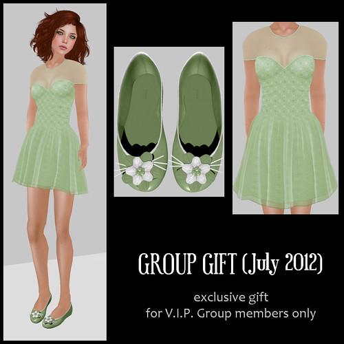 V.I.P. Group Gift July 2012