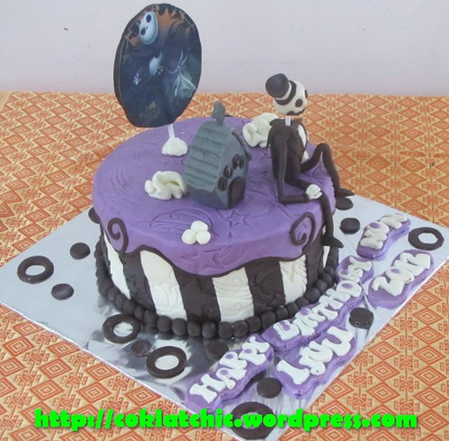 Cake Nightmare before Christmas