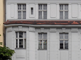 Urbanstraße 122-123, Fassadendetail
