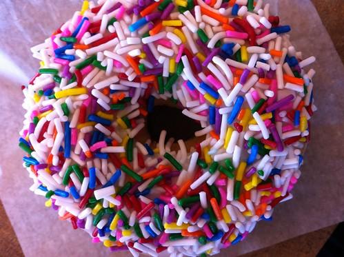 vanilla dip donut