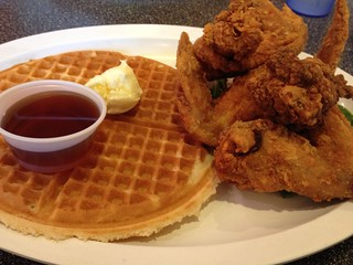 day191: chicken and waffle!