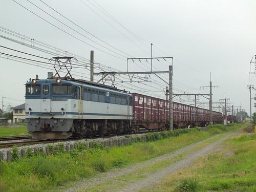 EF65 2061 @行田〜熊谷
