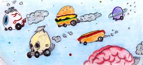 I need a new car. by Giant Hamburger