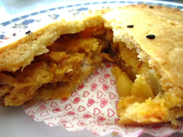 Aroma curry chicken pie 2