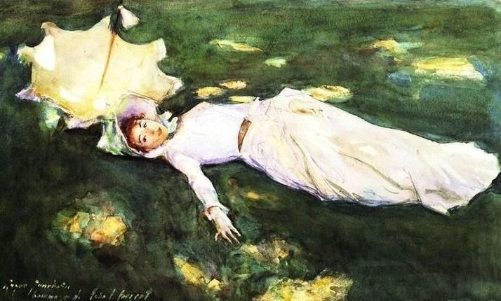 p John Singer Sargent (1856 - 1925)_   Madame Roger-Jourdain