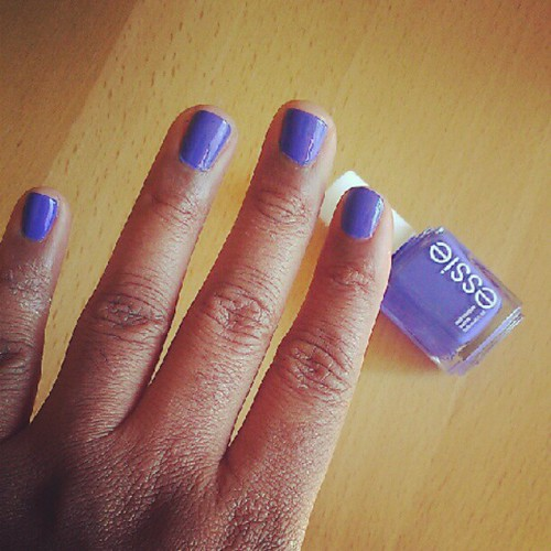 Essie Butler Please is the most gorgeous blue polish I've ever seen. #nailpolish