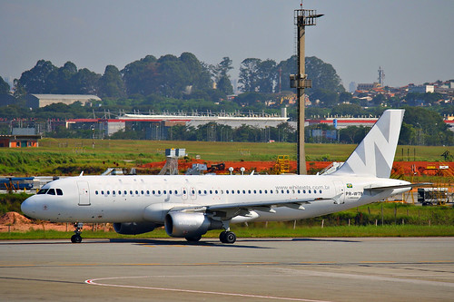 Whitejets | Airbus A320 @ SBGR