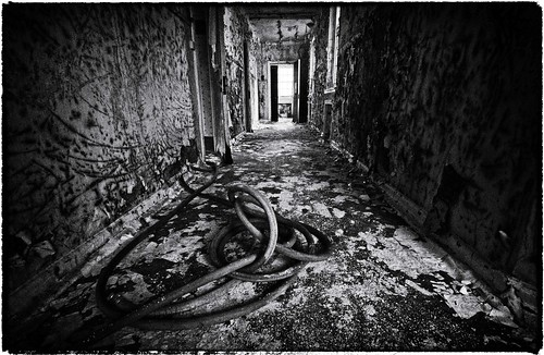 Dark Passageways at Talgarth Mental Hospital