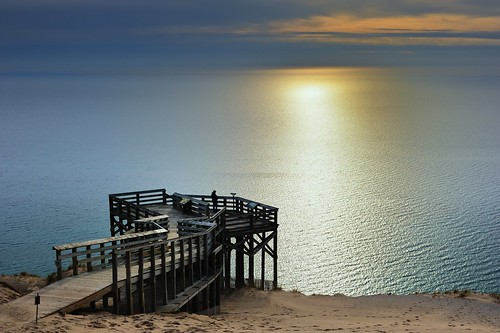 """""""Lake Michigan Overlook"""" Pierce Stocking Scenic Drive - Sleeping Bear Dunes National Lakeshore"""