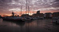 sunrise at South Dock