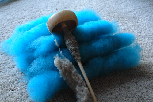 TDF Day 2: Spinning and Carding