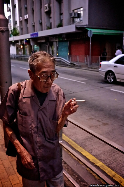 Cigarette man