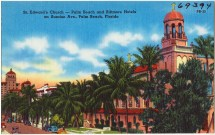 St. Edward' Church- Palm Beach And Biltmore Hotels