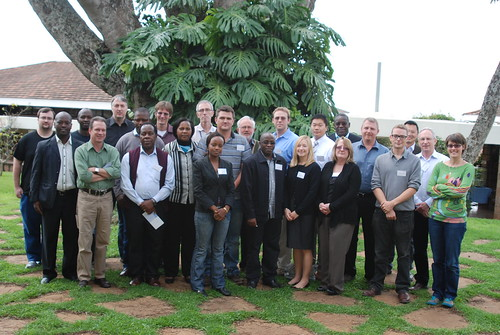 Group photo of the virus discovery workshop participants
