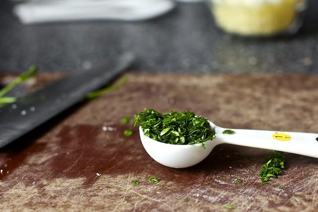 minced parsley