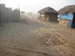 Start of journey through sea sand (2)