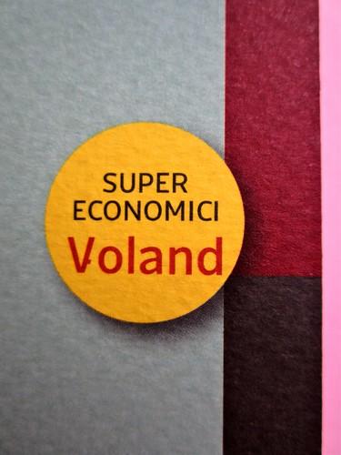 Voland supereconomici, progetto grafico di Alberto Lecaldano, 2