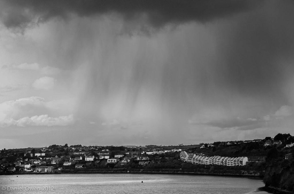 rain over Kinsale