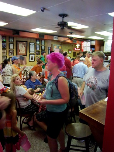 inside Johnny's Po-Boys