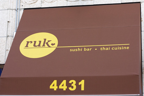 Ruk Sushi Bar and Thai Ciuisine