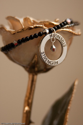Strength Bracelet by Creatively Motivated