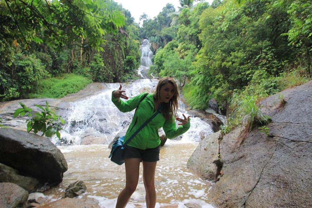 Waterfall-  Koh Samui, Thailand
