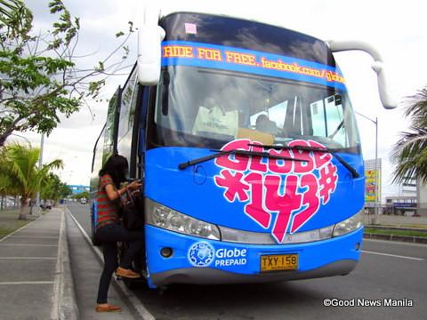 The Globe Love Bus
