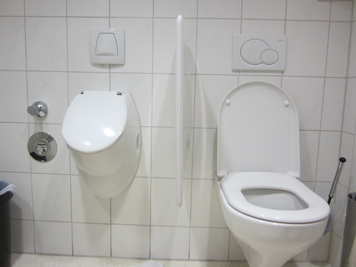 weird German toilets
