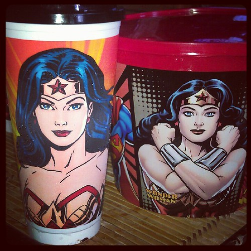 KFC Justice League Wonder Woman Tumbler