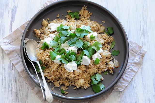 cauliflower 'couscous'-2