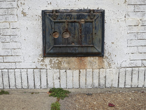 Majestic Coal Chute Door