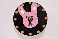廢物再利用:光碟片變成可愛時鐘(8.1ys)