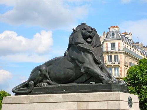 The Lion of Belfort, Paris. by Webminkette