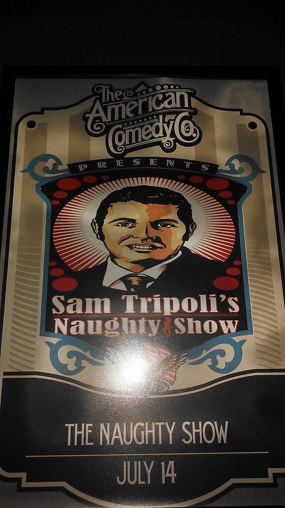 Sam Tripoli's Naughty Show image I designed
