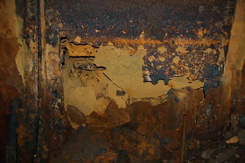 hole in bulkhead