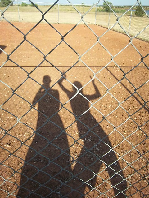chicken coop shadow photo