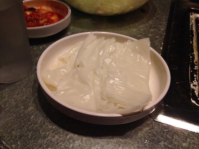 Rice cake wraps - YakiniQ BBQ