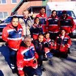 Mexican Red Cross Volunteers