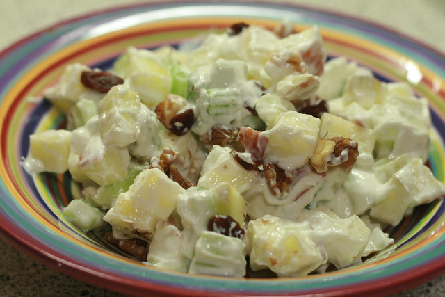 Greek yogurt salad