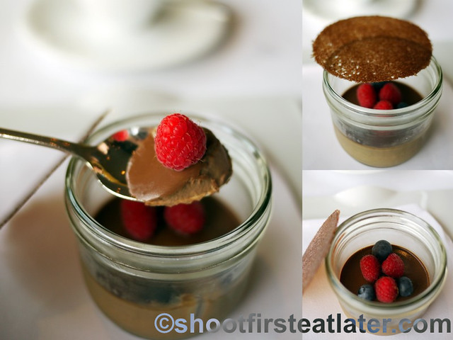 Grissini Hong Kong - dark chocolate & espresso petit pot with fresh berries-001